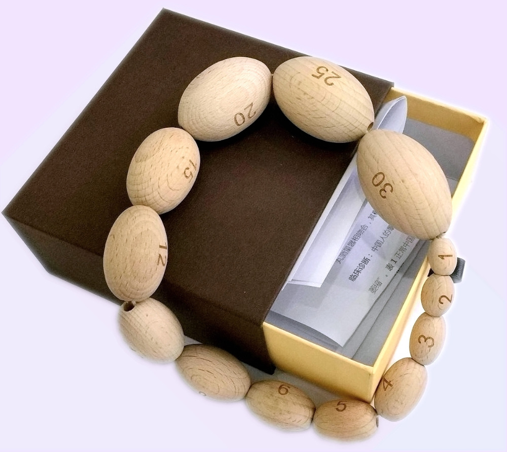 orchidometer 13 kinds of size testis volume meter  testis volume measurement  / testis size meter
