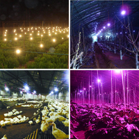 Winter Planting Vegetable Greenhouses Insulation Light String Power Cord Lamp Fill Light Warming Waterproof String Lights