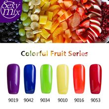 Sexy Mix Any 1pcs 9ML Nail Primer Gelpolish French Manicure 3D Paint Gel Varnish Gel Lacquer Nail Polish for Nail Gel DIY