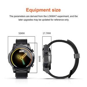 """Image 2 - Lokmat x360 4g lte relógio inteligente homem 3gb32gb mt6739 android 7.1 1.6 """"tela de toque bluetooth gps 5.0mp chamada de vídeo 620mah smartwatch"""