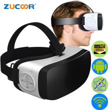 1080P HD 3D VR Android 5.1 OS Glasses All In One Virtual Reality BOX Game Movie Video Google Cardboard WiFi BT HeadMount Helmet