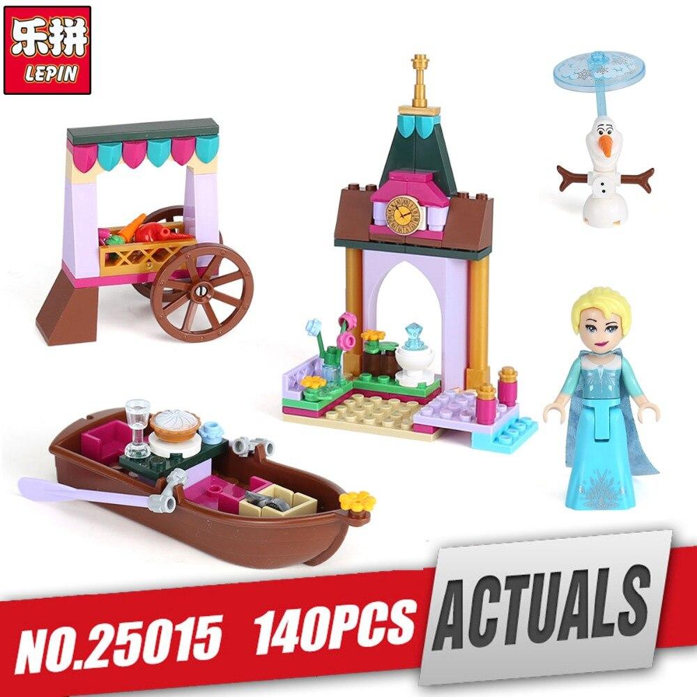 Лепин 25015 для девочек серии legoing 41155 Рынок набор Приключения строительные блоки кирпичи развивающие игрушки для детей как со дня рождения по...
