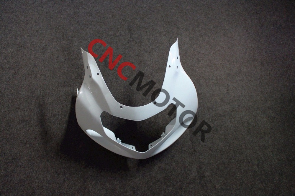 ABS Front Cowl Nose Fairing Kit Bodywork for Suzuki GSX-R GSXR600/750 2001 2002 2003 Unpainted injection molded abs plastic bodywork frame fairings kit for suzuki gsxr 750 yellow black gsxr racing 2000 2001 2002 2003