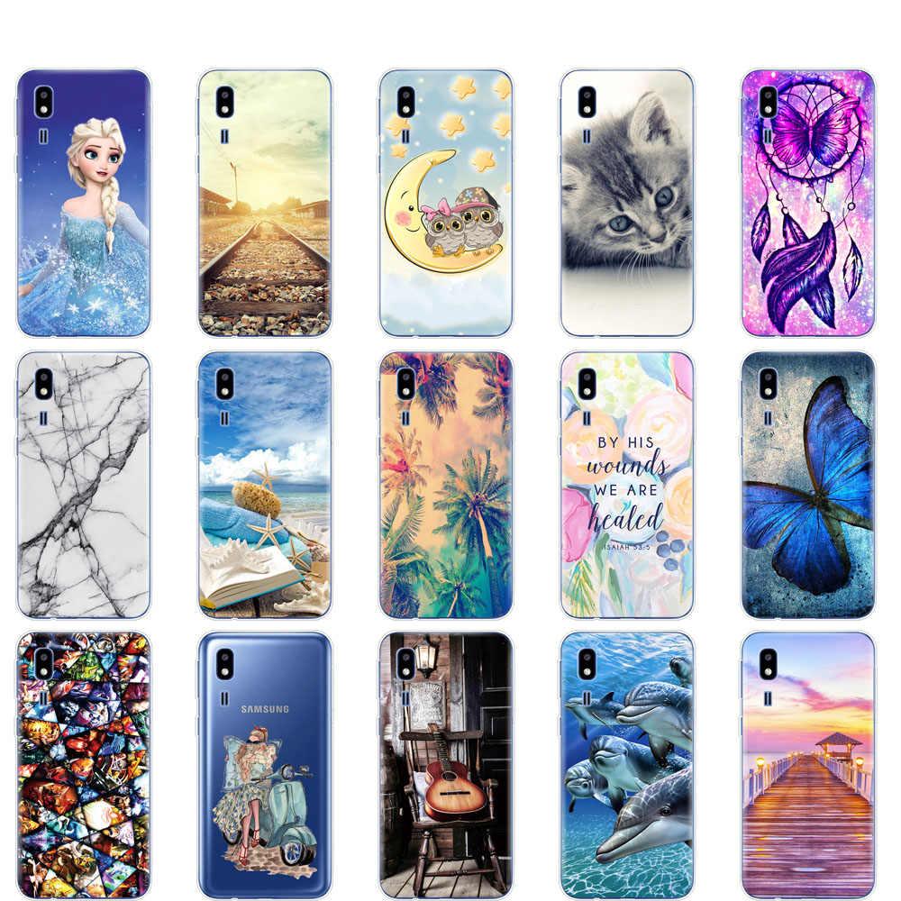 For Samsung Galaxy A2 Core Case 2019 Silicon Soft TPU phone case Back Cover For Samsung A 2 Core A2Core A260F 5.0'' coque bumper