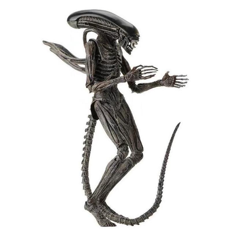 Movie AVP Aliens vs Predator Figure Series Alien Covenant Xenomorph Neomorph Creature Pack Toy Action Figures Model Toy Gift (6)
