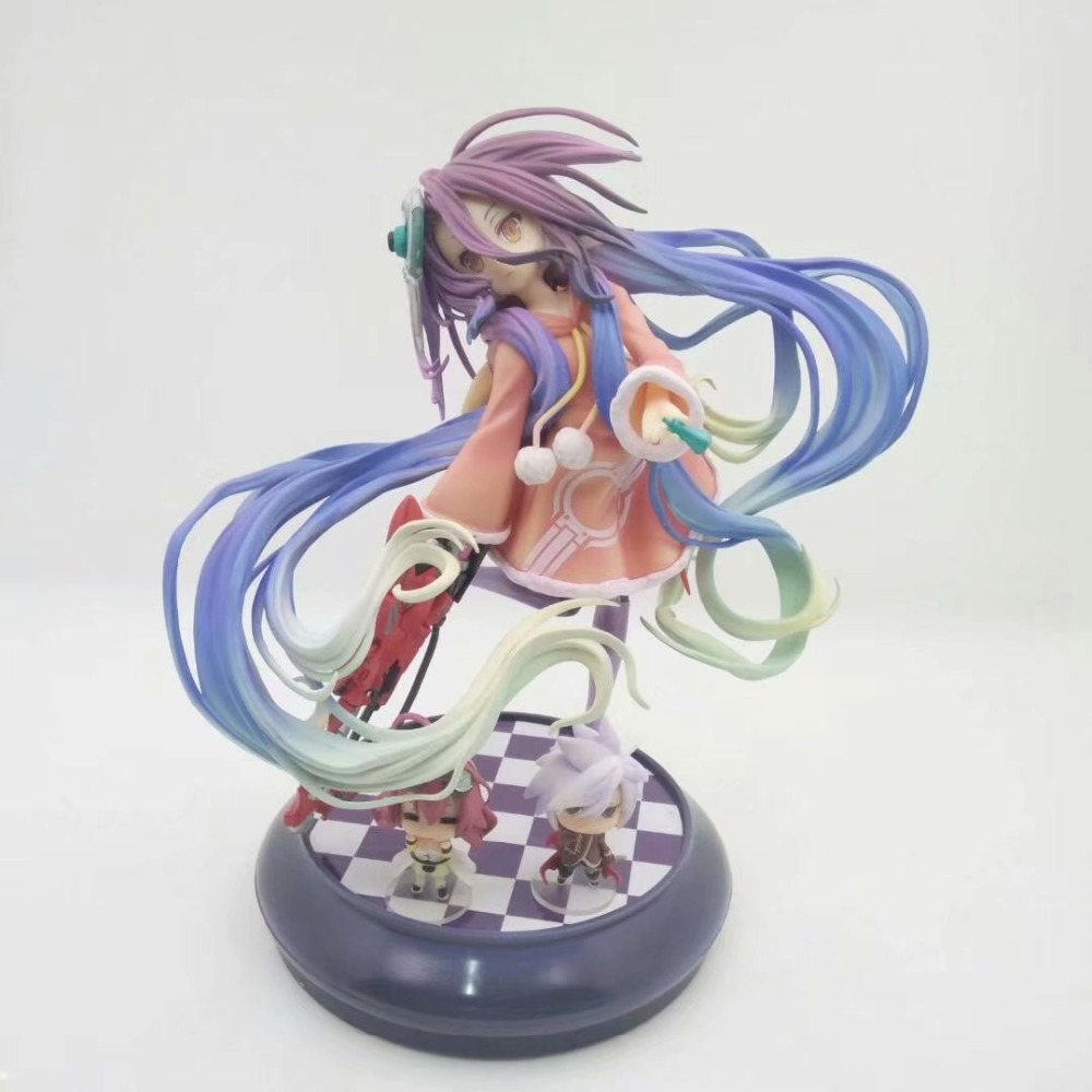 Action & Toy Figures 22cm Japanese Anime Figure No Game No Life Houbi Dora Zero Action Figure Collectible Model Toys For Boys