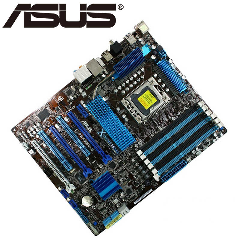 ASUS P6X58D-E MOTHERBOARD WINDOWS 7 DRIVERS DOWNLOAD