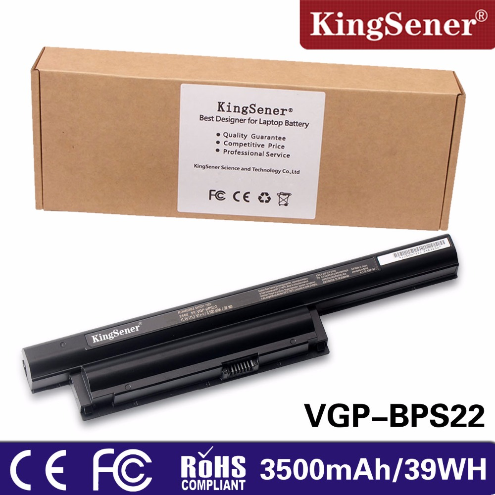 Japanese Cell KingSener VGP-BPS22 Laptop Battery for SONY VAIO VGP-BPS22A VPC-EA1 EA18 EA16 EA31 PCG-71212t 71211T 61211T 61212T sony vgp bps22 оренбург
