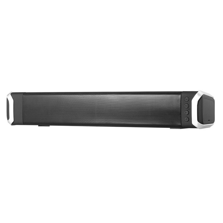 NewRiXing 10 W Altavoz Bluetooth 3D Soundbar HIFI inalámbrico FM Radio Subwoofer altavoces para teléfono ordenador casa teatro SDY-019 (