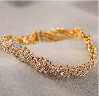 2017 new Korean jewelry full Fangzuan shiny slim bracelet female wild free shipping