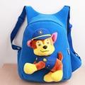 Dos desenhos animados Anime Backpack Crianças Escola Bags Patrulha Cachorro Lona Saco de Escola Mochila para Crianças Mochila Infantil 3D Patrulla Canina