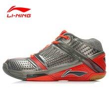 LI-NING Zapatos de Los Hombres Bádminton Lin Dan Londres Juegos Olímpicos HÉROE La Estabilidad Zapatos Zapatillas de Deporte Zapatos de Deporte de Secado Rápido FORRO AYAJ077 XYY007