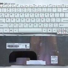 США английская клавиатура ноутбука для lenovo Ideapad S12 K23 K26 белая клавиатура с английской раскладкой