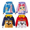 2016 spring and autumn kids jackets boys and girls cartoon casual coats children's fashion popular hooded  jacket for age 12M-6T