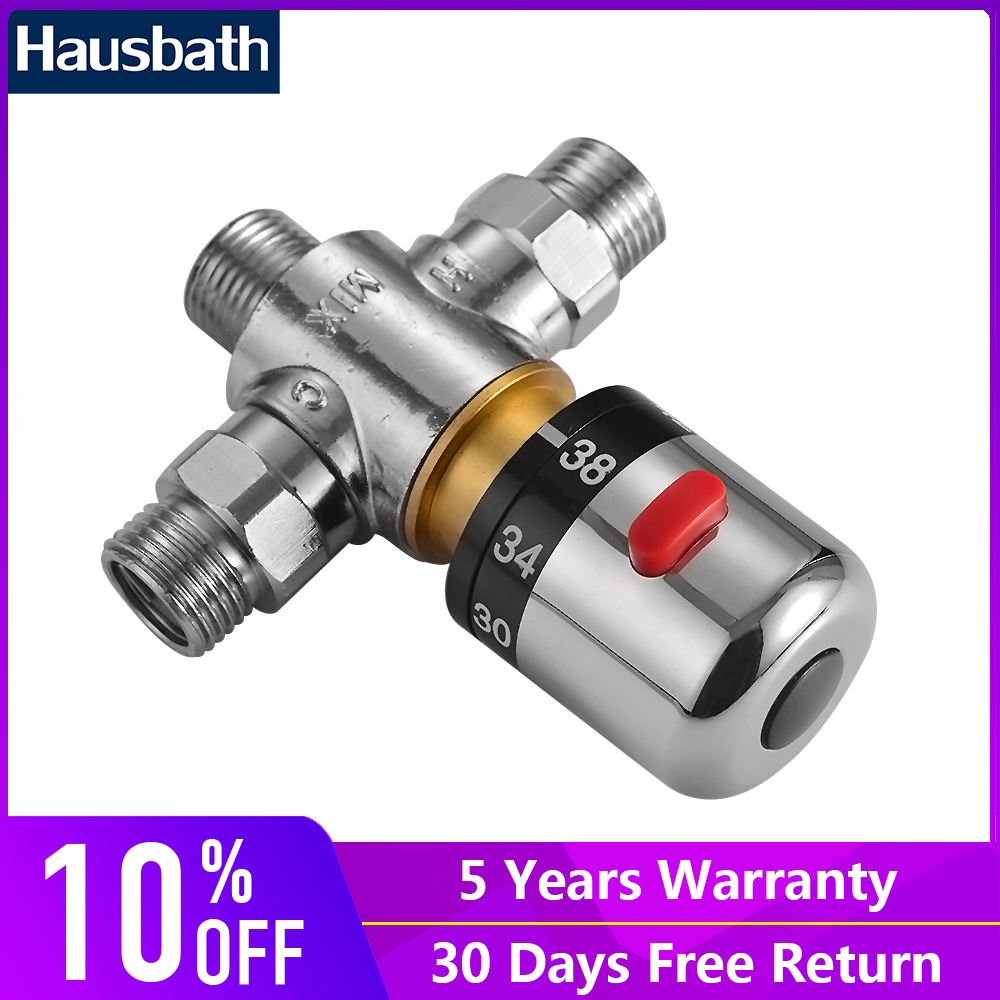 Thermostatic Mixing Valve Water Mixer Brass Faucet