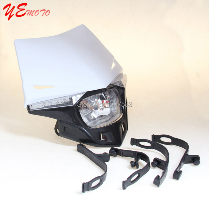 cbr 600 f2 street fighter headlight setup