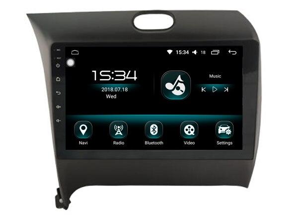 Octa core android 8.0 4 gb ram et 32 gb rom ips écran système de navigation enregistreur radio de voiture pour Kia k3 cerato forte 2016 canbus
