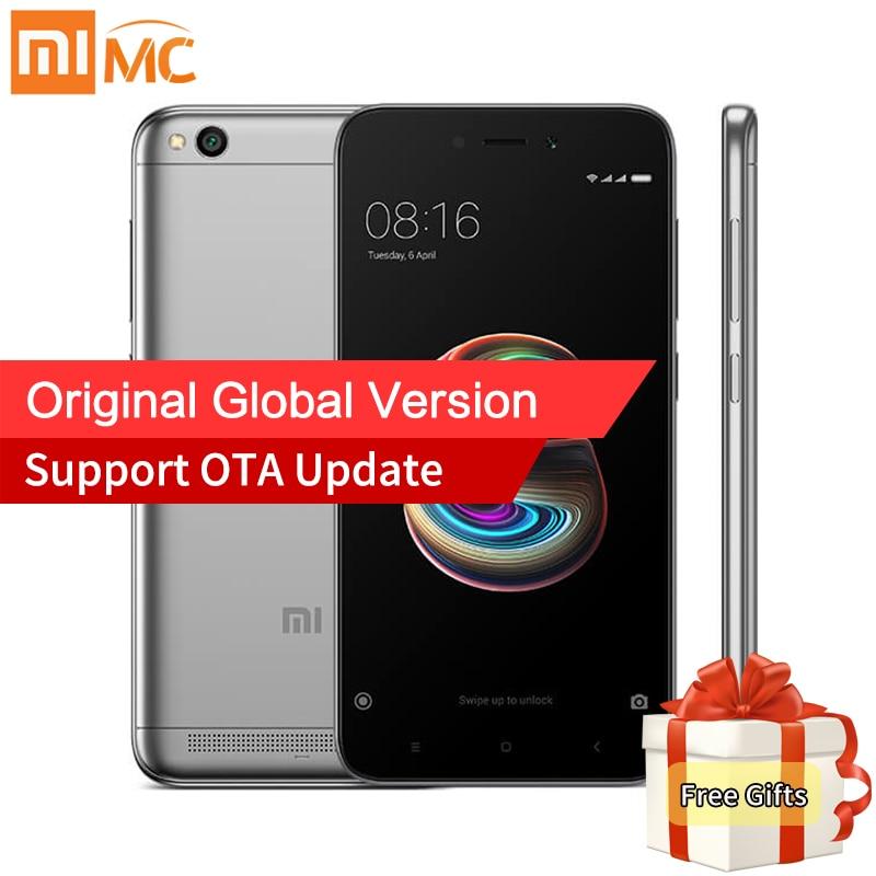Global Version Xiaomi Redmi 5A 5 A 2GB RAM 16GB ROM Mobile Phones Snapdragon 425 Quad