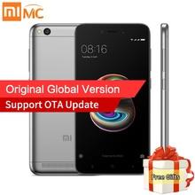 Mondial Version Xiaomi Redmi 5A 5 Un 2 GB RAM 16 GB ROM Mobile téléphones Snapdragon 425 Quad Core CPU 5.0 Pouce Écran HD 13.0MP Caméra