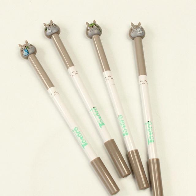 Totoro Black Ink Gel Pens
