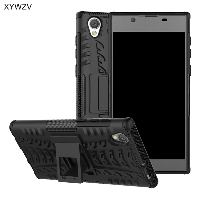 sFor Coque <font><b>Sony</b></font> Xperia L1 <font><b>Case</b></font> Shockproof Hard PC Silicone Phone <font><b>Case</b></font> <font><b>For</b></font> <font><b>Sony</b></font> Xperia L1 Back Cover <font><b>For</b></font> <font><b>Sony</b></font> L1 L 1 <font><b>G3312</b></font> XYWZV image