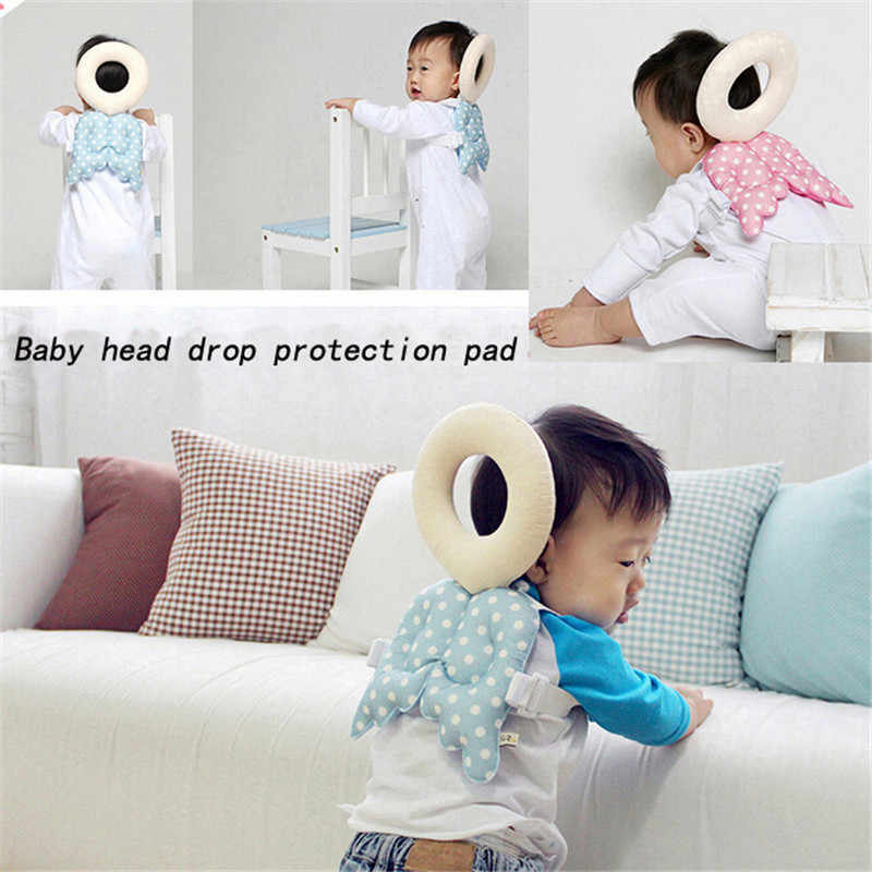 Baby Pillow Head Protection Pad Cushion Neck Drop Resistance Room Breastfeeding Nursing Comfort Toddler Headrest