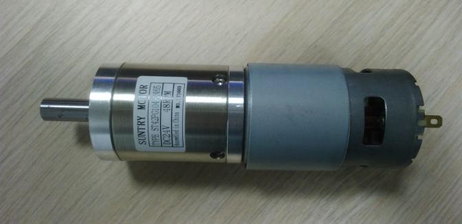 11 5rpm 14 6rpm 16 8rpm 23 7rpm 47rpm 24V DC 42mm Planet Gearbox Motor 24V