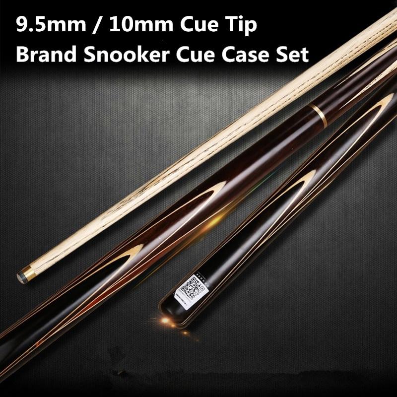 Brand Custom snooker cue 9.5mm / 10mm cue tips 145cm handmade Ash wood Shaft Billiard pool cues 3/4 Billiards Stick new cuppa pool jump cue 13 5mm black bakelite tips punch