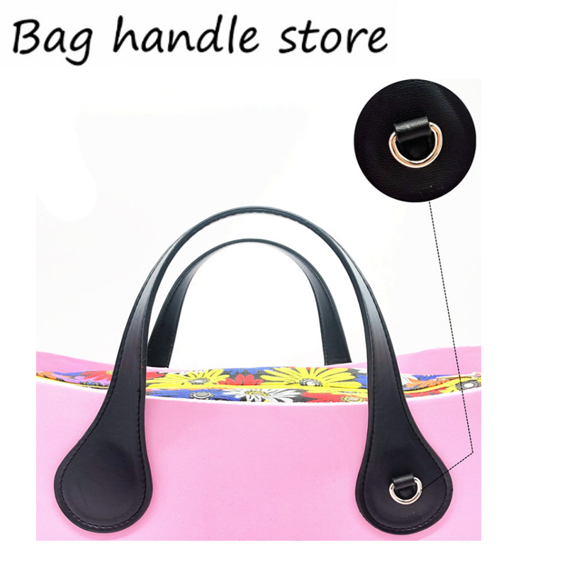 1 pair 44 cm bag handles with hook for shoulder strap for obag handbags accessary