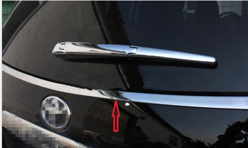 chrome rear window side cover trim fit for Toyota Highlander 2011-2013 high quality abs chrome rear bumper scuff trim for 2015 toyota highlander
