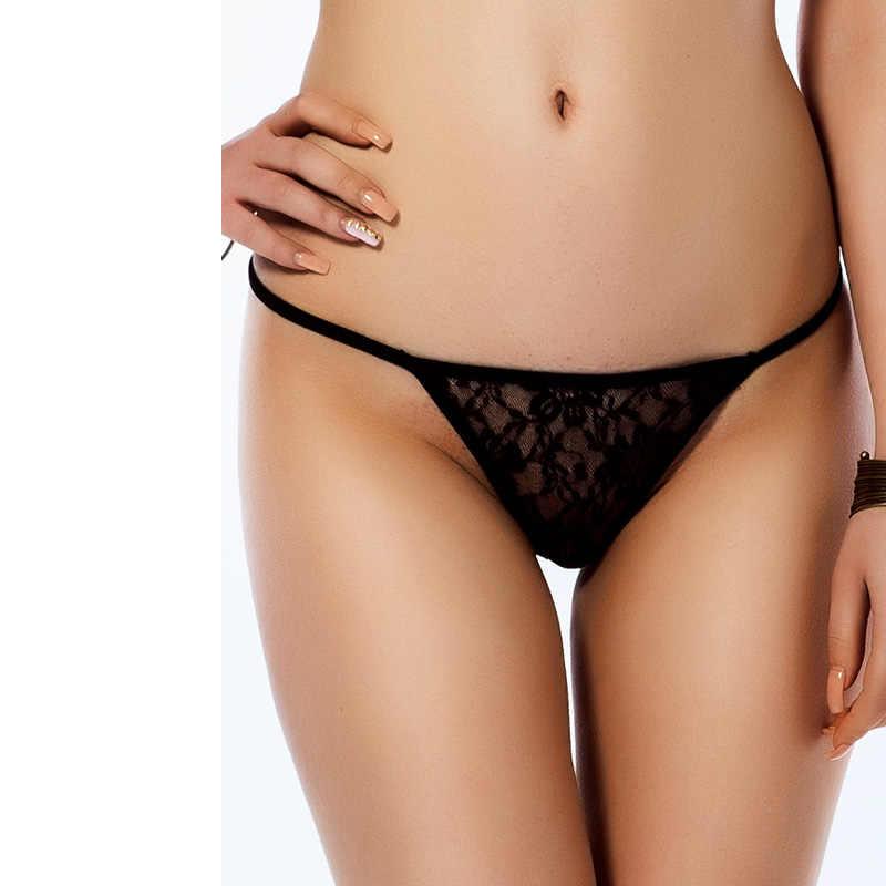 セクシーなストリングファムスーパーディールマイクロミニ女性のパンティー高品質女性皮ひもとgストリングプラスサイズ 3XLひもパンティーP5018