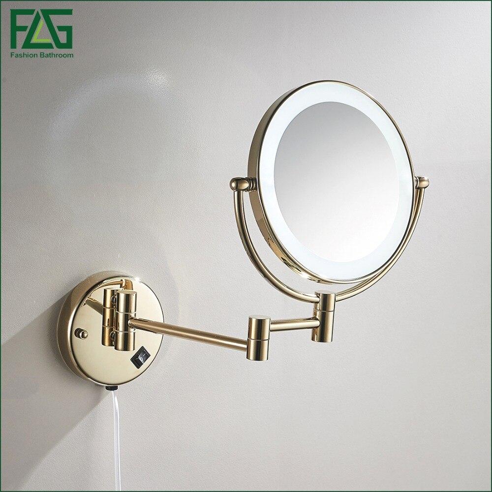 ванная комната, увеличительное зеркало настенный