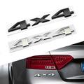 3D Auto Car Motor ABS 4X4 Emblemas Decalque Emblema Etiqueta do carro para o jeep Four-wheel drive carro styling frete grátis