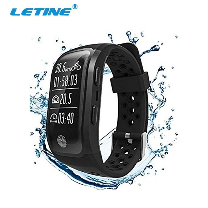 Letine S908 G03 Bracelet intelligent podomètre moniteur de fréquence cardiaque Tracker d'activité pulsomètre Smartband pour Smartphone Xao mi Band