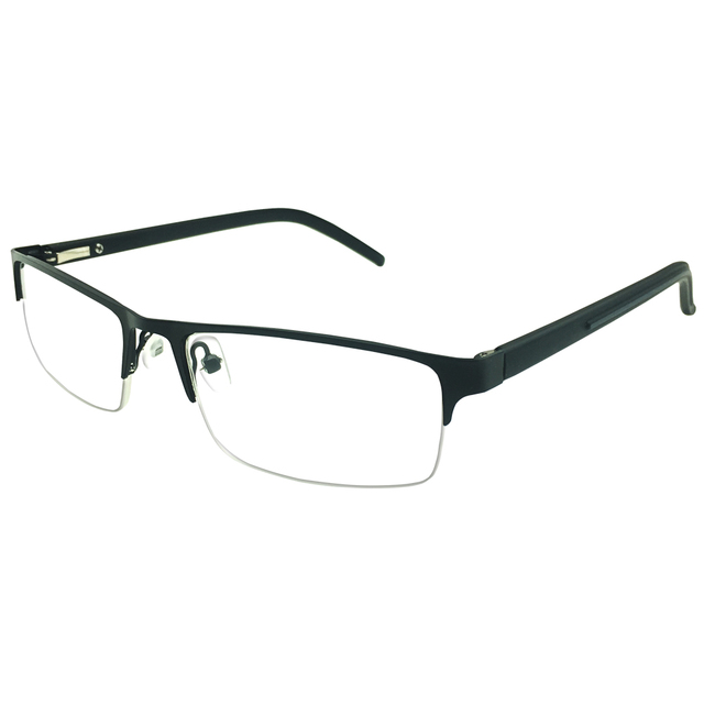 4866856696 1x Reading Glasses Classic Office Home Readers Eyeglasses Eyewear Mens  Womens Half Rim Prescription +1.00 to +4.00 Spectacles-in Reading Glasses  from ...