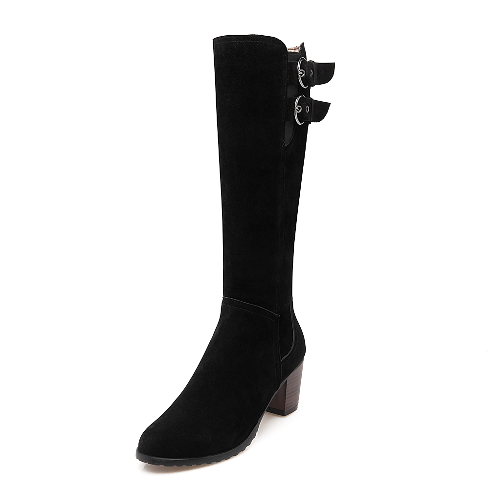 big size 34 43 new knee high boots boots