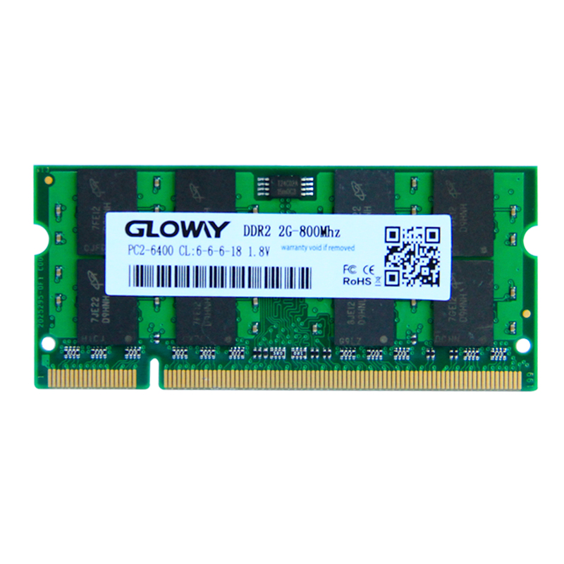 Brand Sealed DDR2 533Mhz / 667Mhz / 800Mhz 1GB / 2GB SODIMM 200-pin Memory Ram memoria ram For Laptop Notebook free shipping