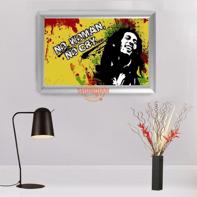 High Quality Custom Aluminum Alloy Painting Frame Home Decor bob ...