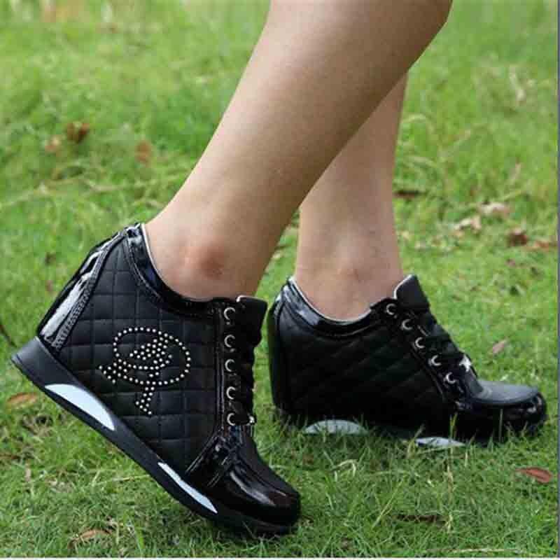 1 Mode Dames De À Invisible Sauvage Augmenter Casual Automne Chaussures L'intérieur 2 Printemps Nouveau Et 201 Confortable qTwSYIaw