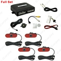 1set Original Style 4-Sensor Car Video Rearview Visual Parking Sensor Backup Radar System  #CA4750