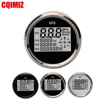 Automobile Tuning Gauges 85mm Digital GPS Speedometers Odometers Motorcycle Tuning Meters 9-32V