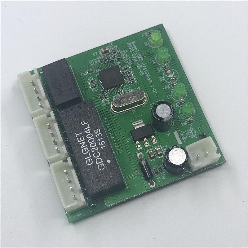 Image 5 - OME 3 Порты модуль автоматического включения света при создании PCBA 4 Pin Header UTP модуль PCBA с светодиодный Дисплей резьбовое отверстие позиционирования Мини ПК данные от оригинального производителя onlywheel в-in Сетевые коммутаторы from Компьютер и офис