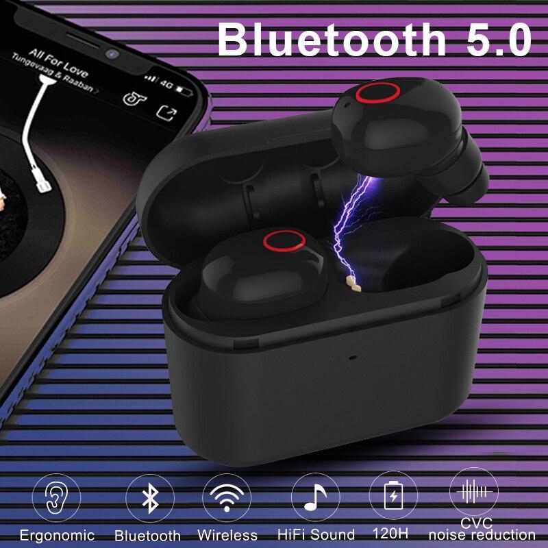 TWS Bluetooth 5.0 Écouteurs Invisible Sans Fil Casque Gaming Bluetooth Écouteur Mains Libres Sport Écouteurs Casques