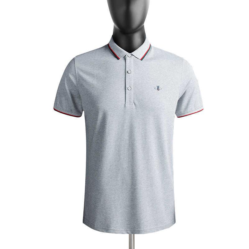 Футболка для мужчин брендовая одежда мужские модные футболки Фитнес Повседневная мужская футболка из чистого хлопка дышащая