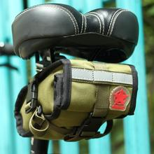 Bike Tail Bag Bicycle Saddle Bag New Back Seat Tail Pouch Personalized Riding Equipment Bicycle Accessories Bicycle Frame Bag