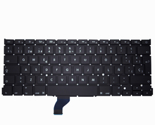 New notebook keyboard for Apple macbook pro A1502 FRENCH/SPANISH/RUSSIAN/SWEDISH layout