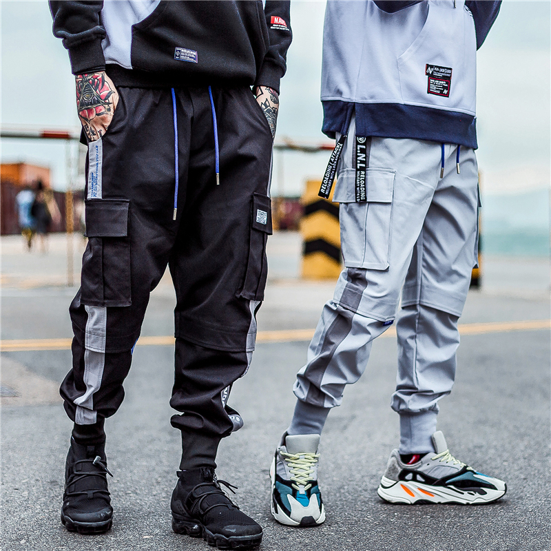 Aelfric Eden Ankle-length Casual Pants Male 2018 Letter Embroidery Fashion Joggers Men Hip Hop Slim Fit Harajuku Streetwear Ua03 Buy One Give One