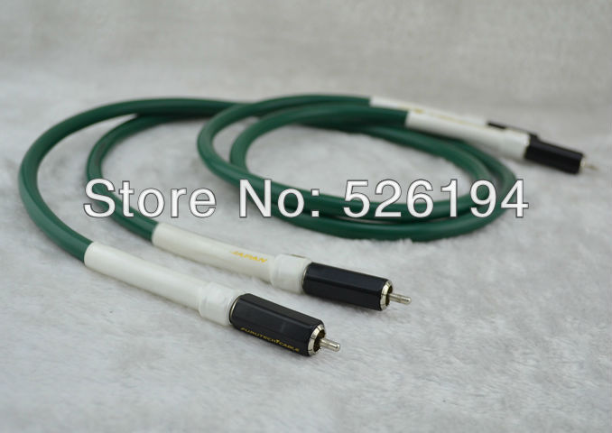 Free shipping pair Alpha FA-220 Interconnect RCA Cable with RCA plug connector free shipping fp 3ts762 alpha ofc power cable with oyaide p 079e c 079 eu version connector plug