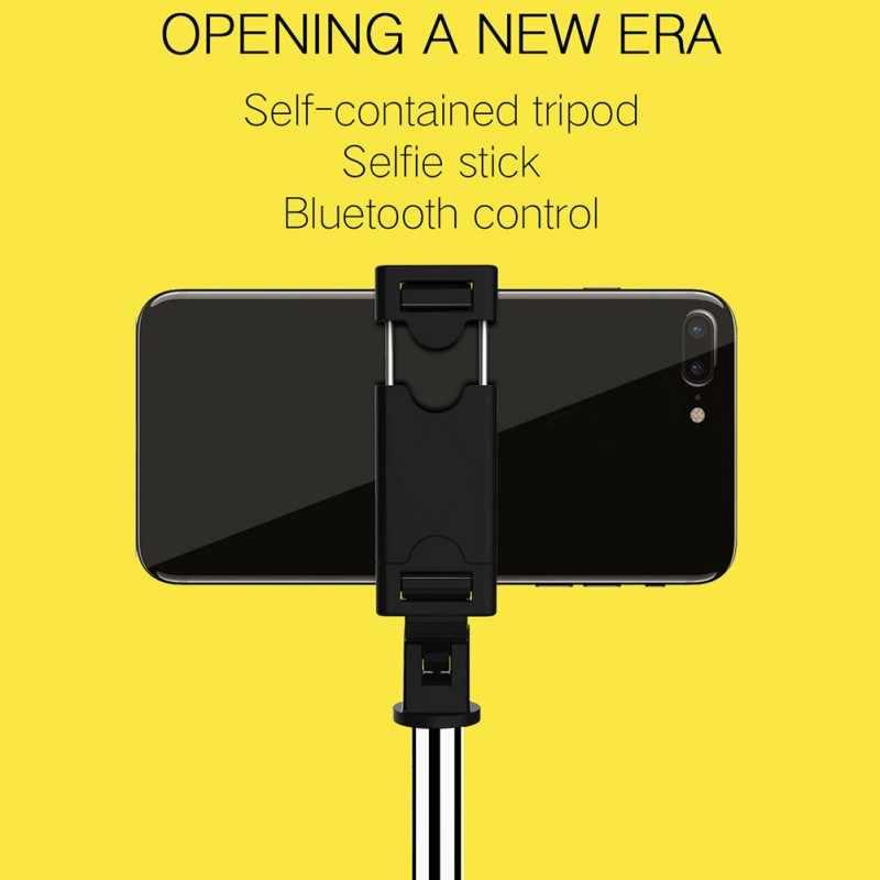 Мини Складная Bluebooth палка для селфи Универсальный штатив Выдвижная монопод для iPhone X XR SamSung S8/S9 Xisomi 9/8 HuaWei P20/30