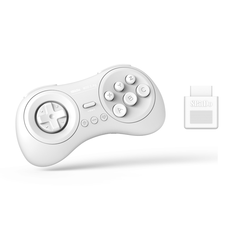 8BitDo M30 2.4G Wireless Gamepad for Sega Mega Drive - Sega Genesis and Original Sega Genesis8BitDo M30 2.4G Wireless Gamepad for Sega Mega Drive - Sega Genesis and Original Sega Genesis